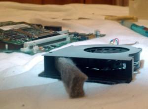 чистка ноутбука toshiba satellite a300