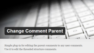 Wordpress change comment parent